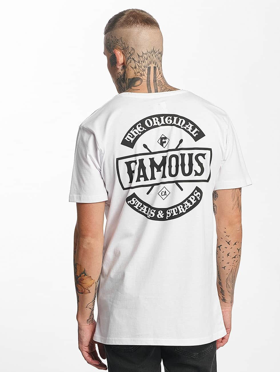 Famous Stars and Straps T-Shirt Chaos white