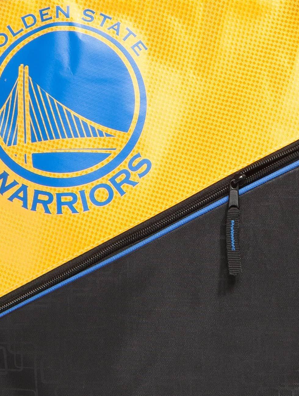 Forever Collectibles Beutel NBA Diagonal Zip Drawstring Warriors svart