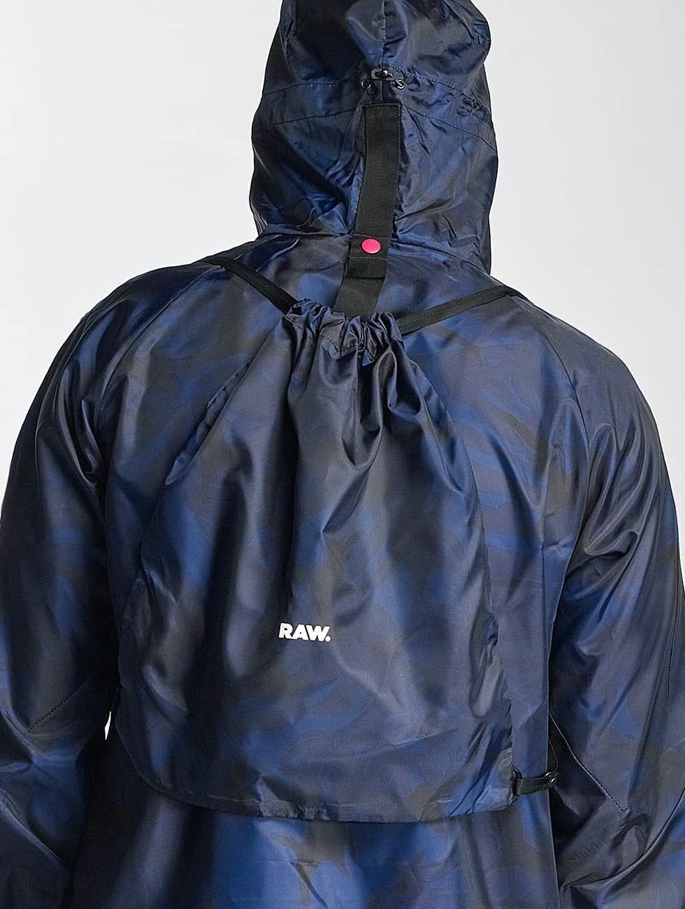 G-Star Lightweight Jacket Strett Hdd Gymbag Myrow blue
