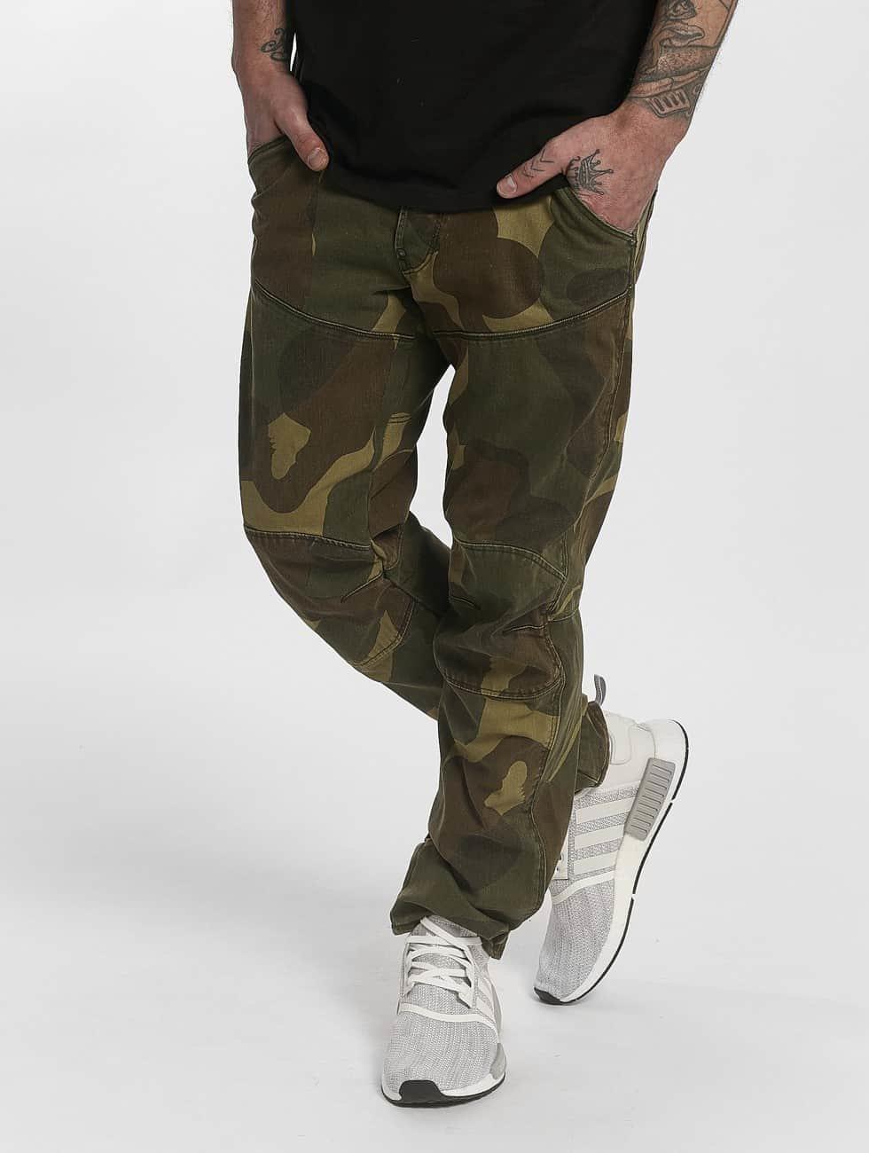 g star herren loose fit jeans 5620 3d inza denim mbc in camouflage 413526. Black Bedroom Furniture Sets. Home Design Ideas