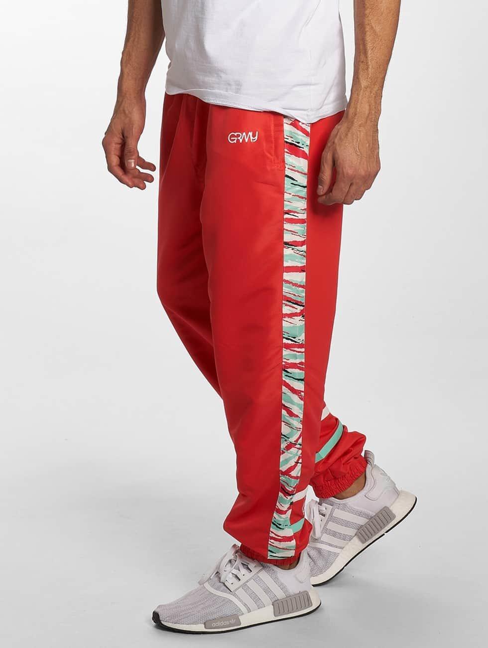 Grimey Wear Sweat Pant Mangusta V8 red