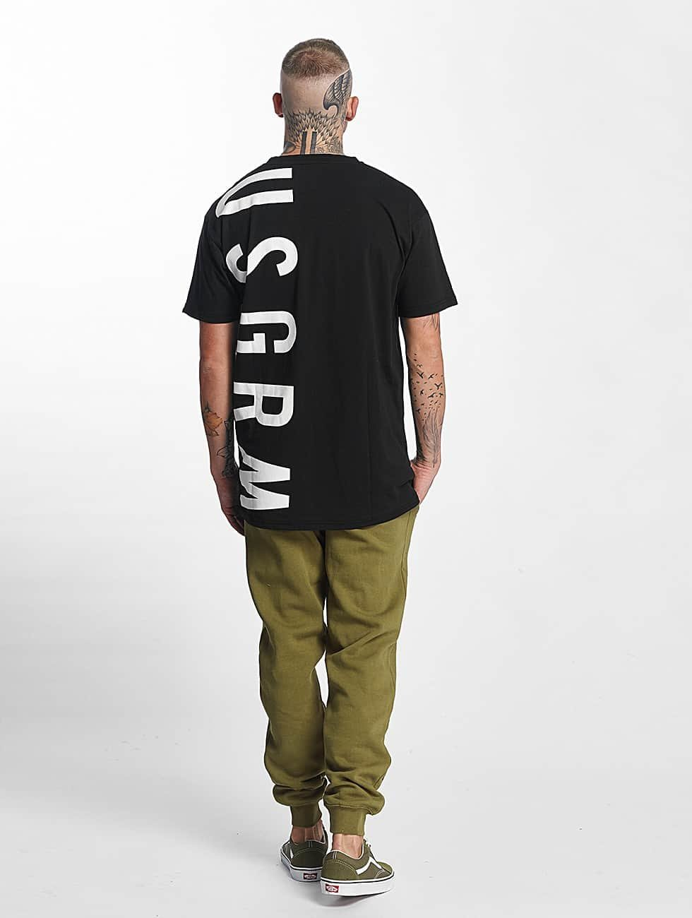 Grimey Wear T-Shirt Infamous Heritage schwarz