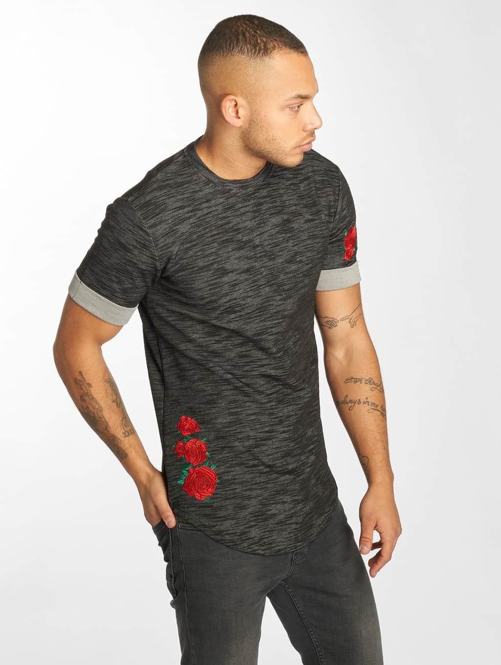 Hechbone T-Shirt Roses gris