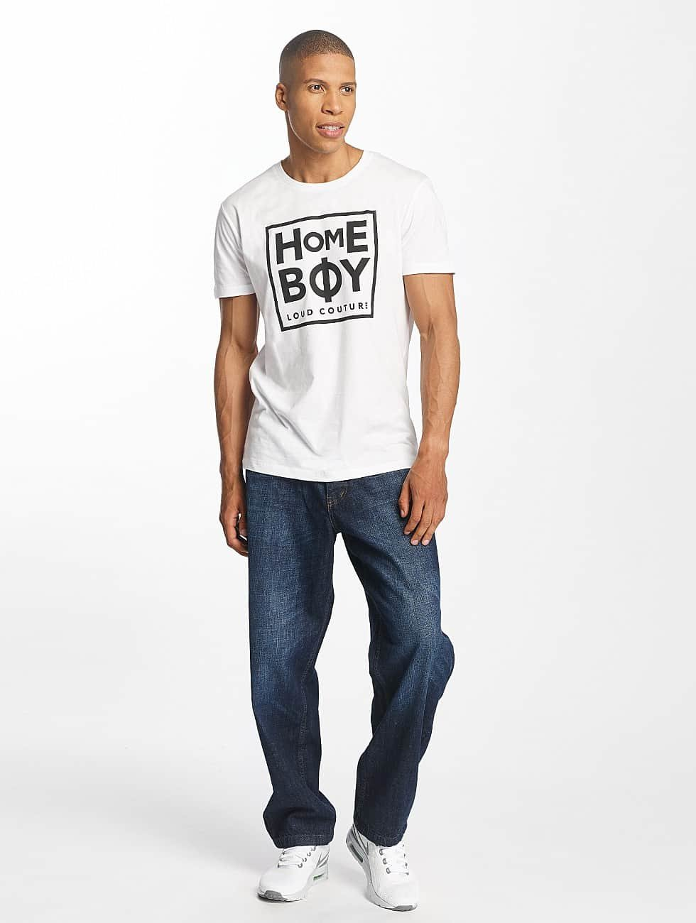 Homeboy T-Shirt Take You Home white
