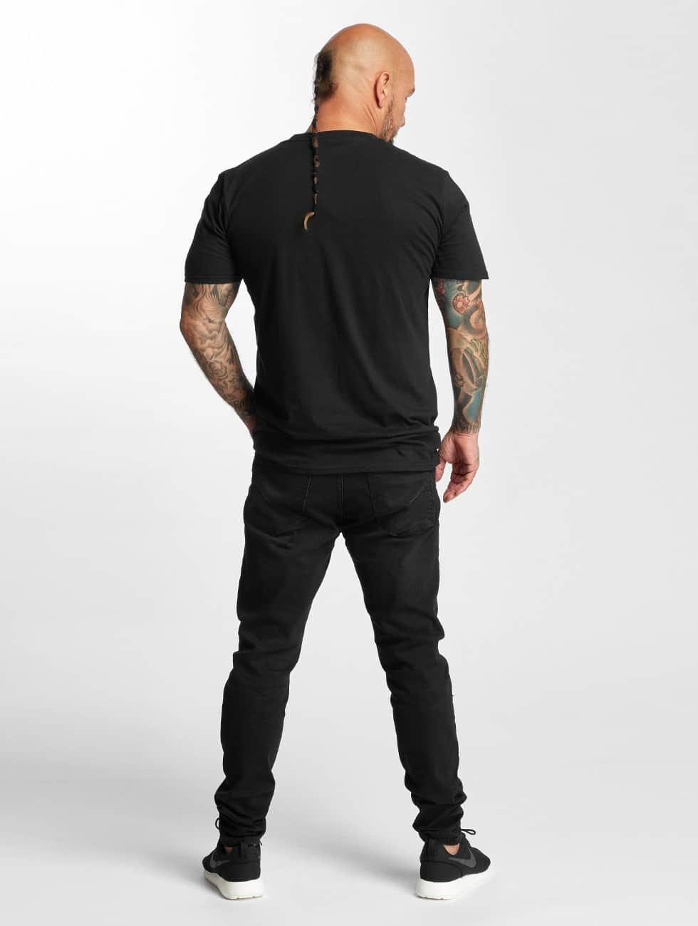 I Love Tattoo t-shirt Anker zwart