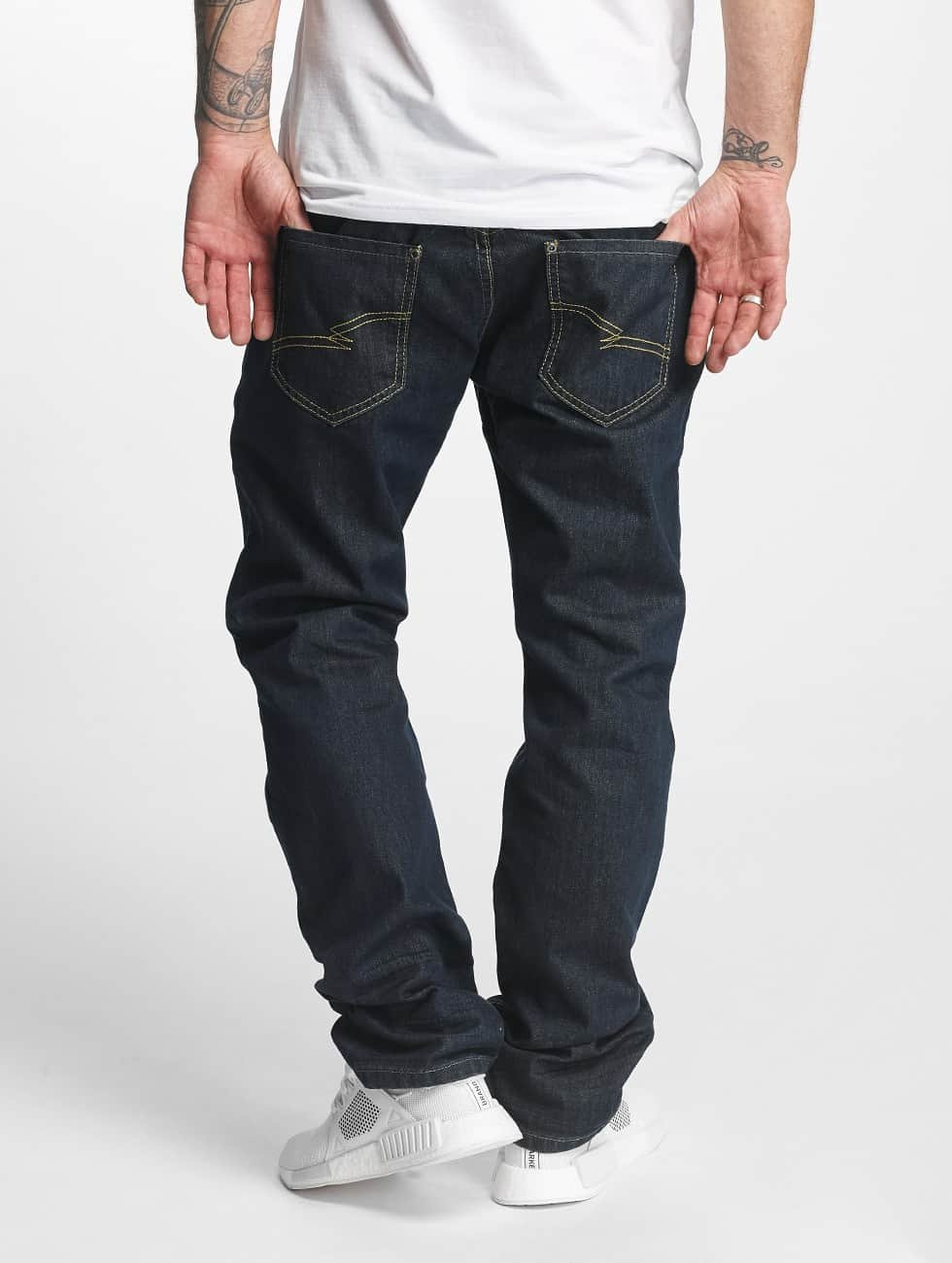ID Denim Dżinsy straight fit Jakes niebieski