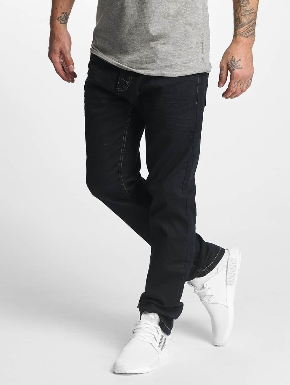 ID Denim Dżinsy straight fit Basic niebieski