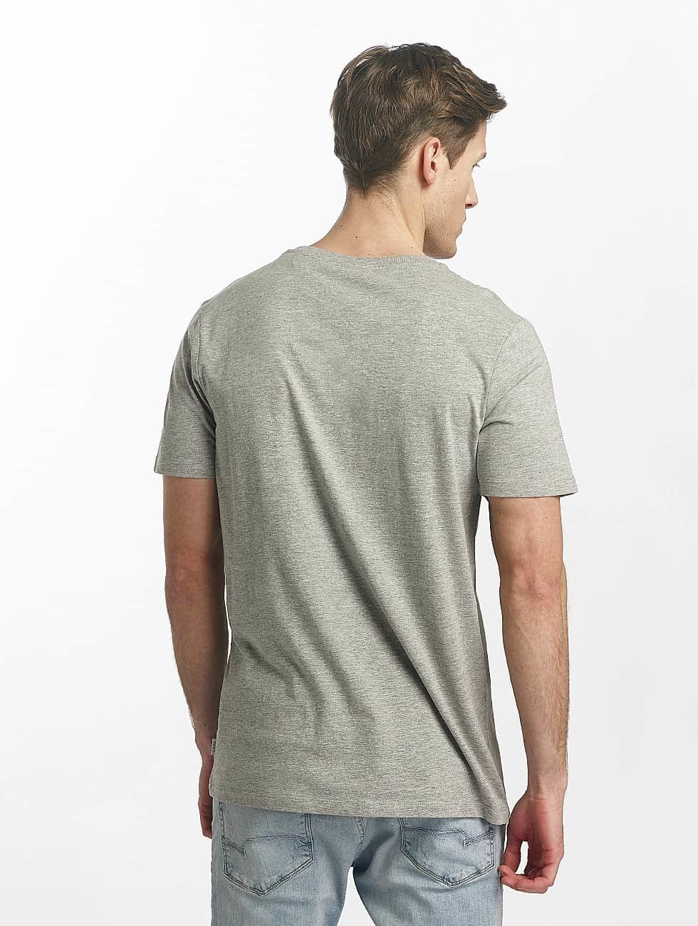 Jack & Jones Camiseta jcoLine gris