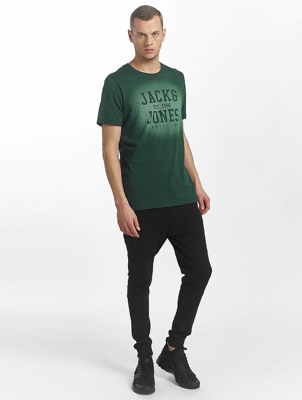 Jack & Jones Camiseta jorStencild verde
