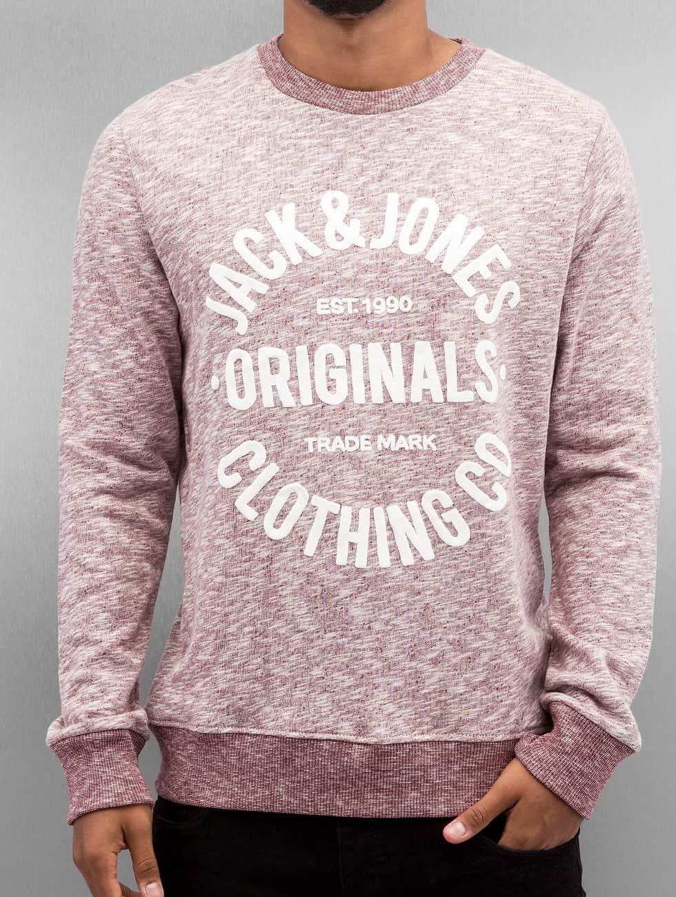Jack & Jones Pullover jorClemens rot