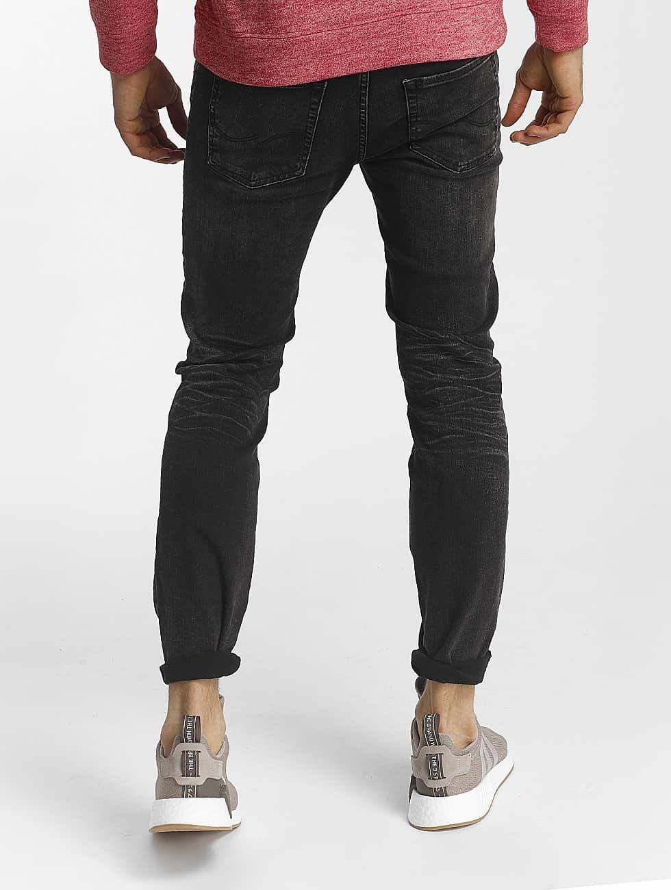 Jack & Jones Slim Fit Jeans jjiTim jjOriginal zwart