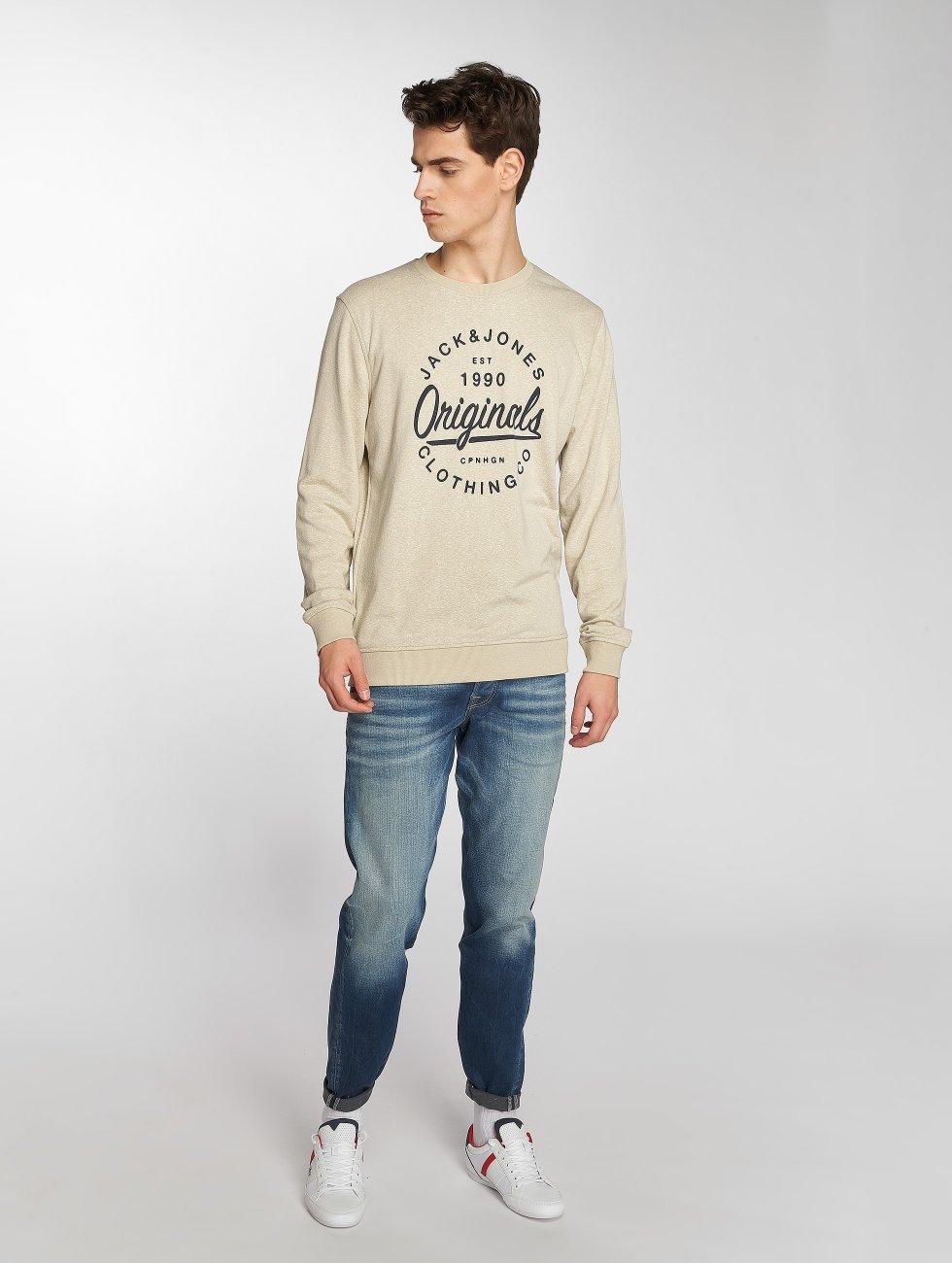 Jack & Jones Straight Fit Jeans Mike blau