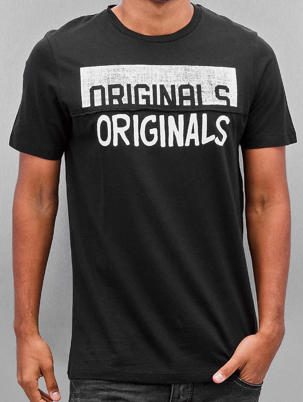 Jack & Jones T-Shirt Jorsedret black