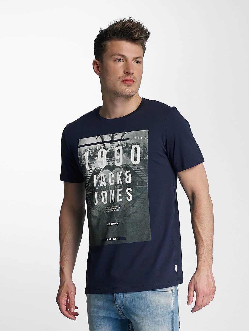 Jack & Jones T-Shirt jcoParlamento blau