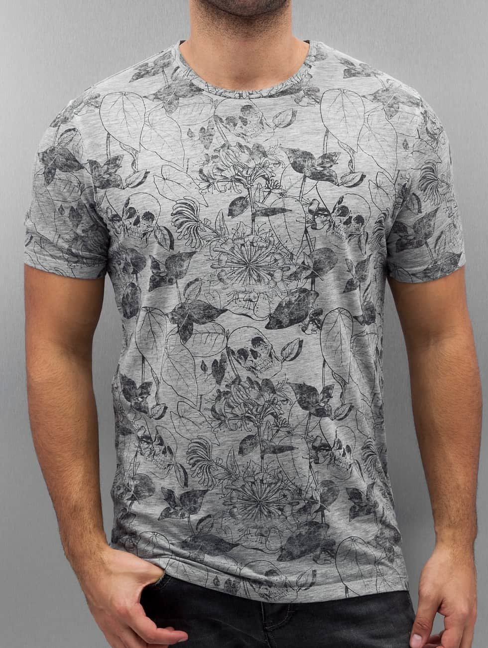 Jack & Jones T-shirt jjorDany grigio