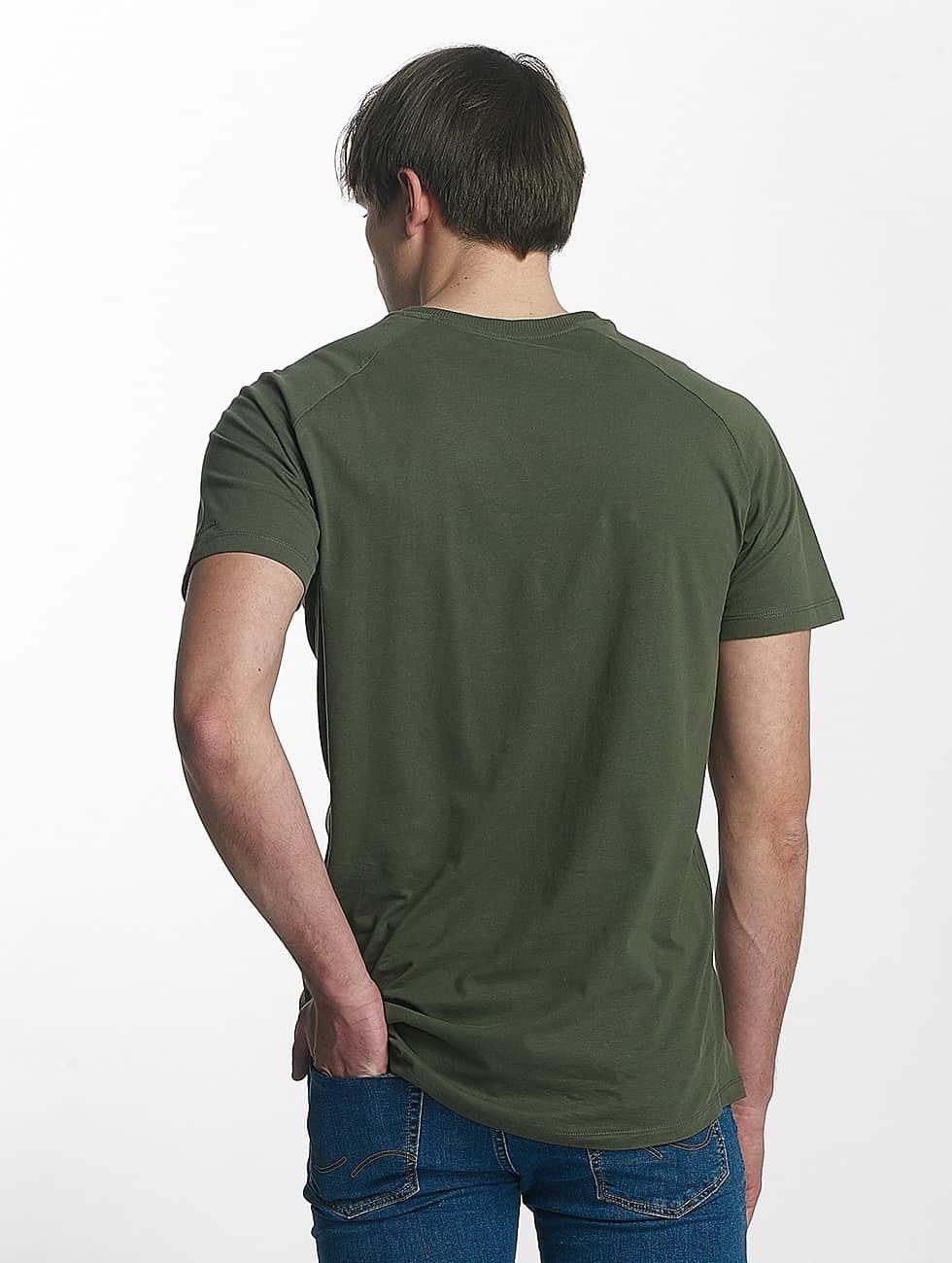 Jack & Jones t-shirt jcoRafe olijfgroen
