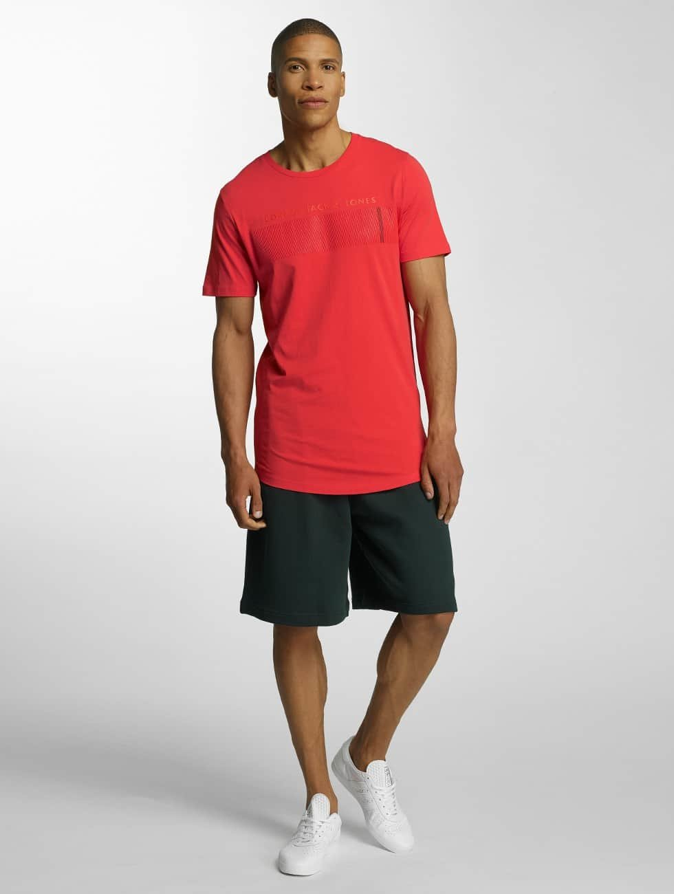 Jack & Jones T-Shirt pcoCompact red