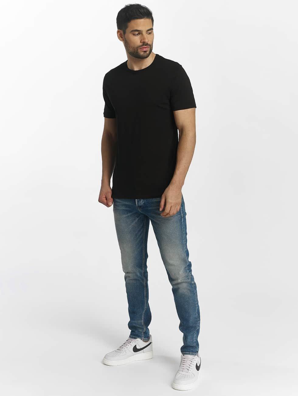 Jack & Jones t-shirt jacBasic zwart