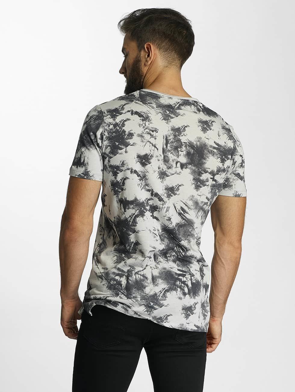 Jack & Jones T-skjorter jorPaint grå
