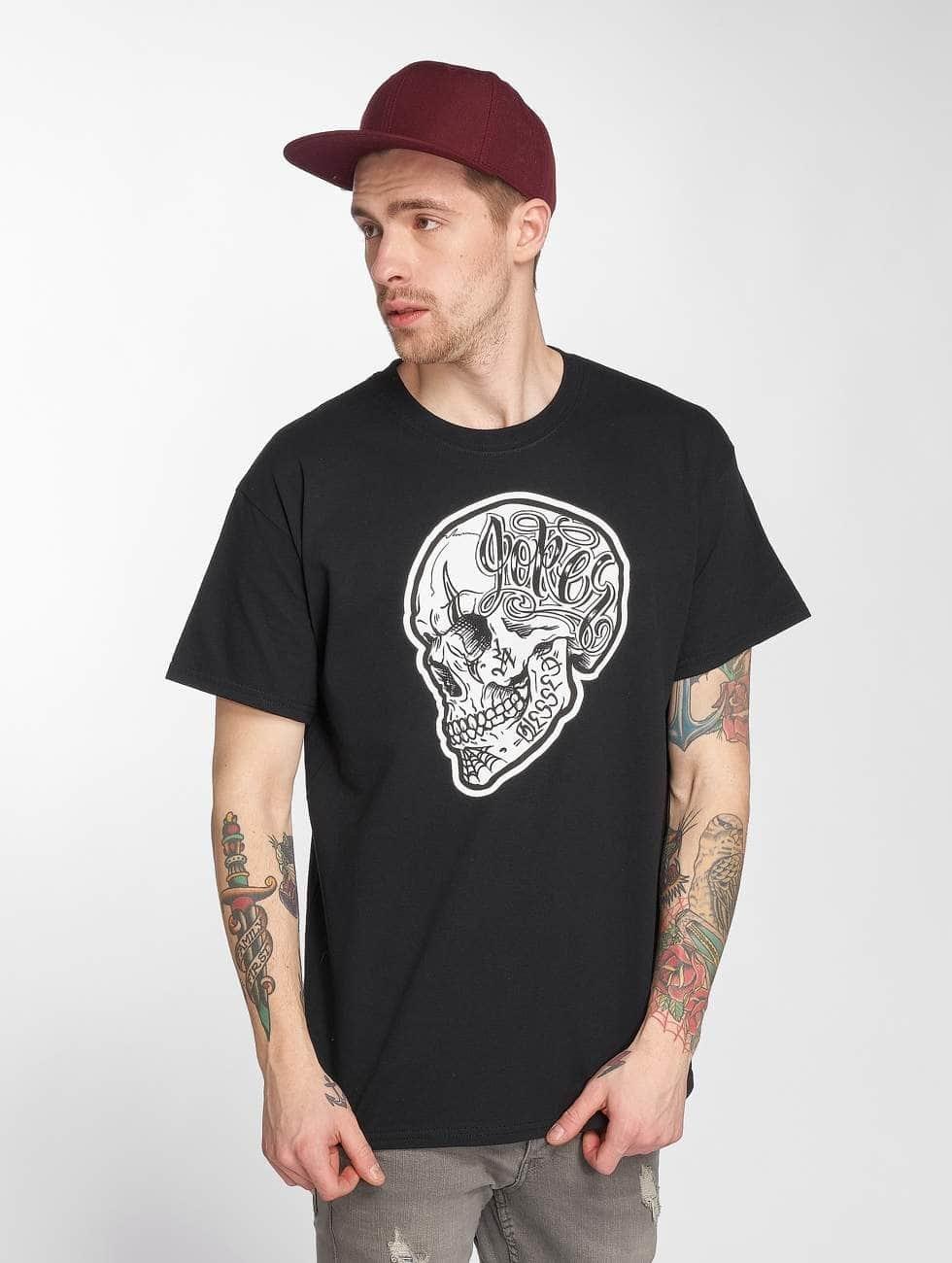Joker T-shirts Skull sort
