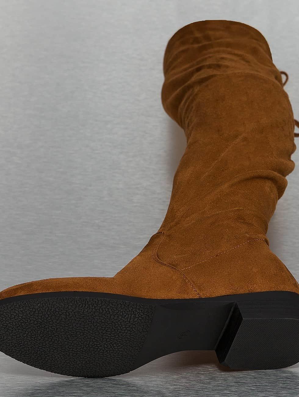 Jumex Women Boots Overknees brown