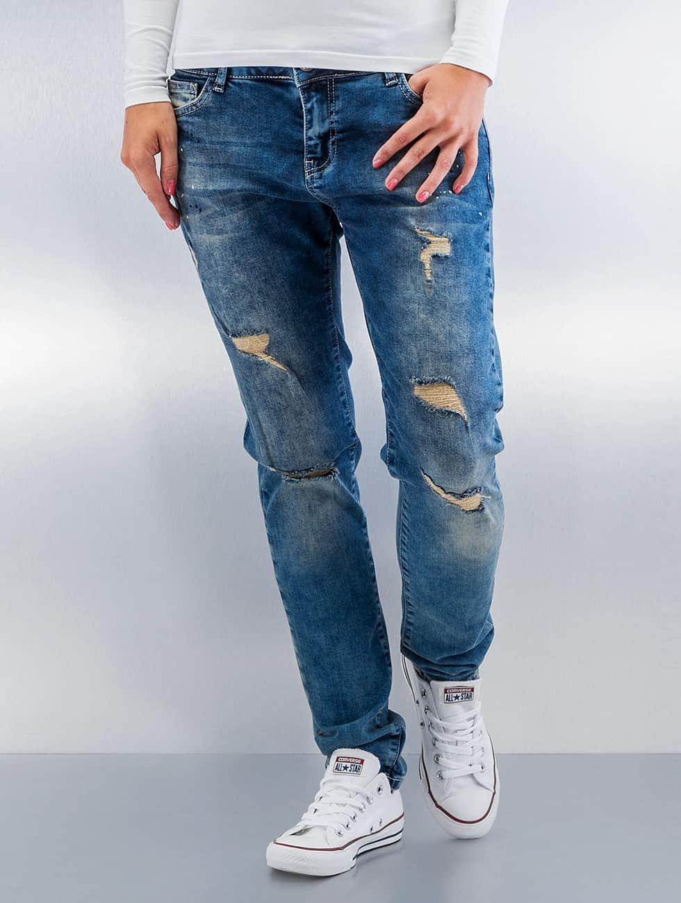 Just Rhyse Boyfriend jeans Koza blå