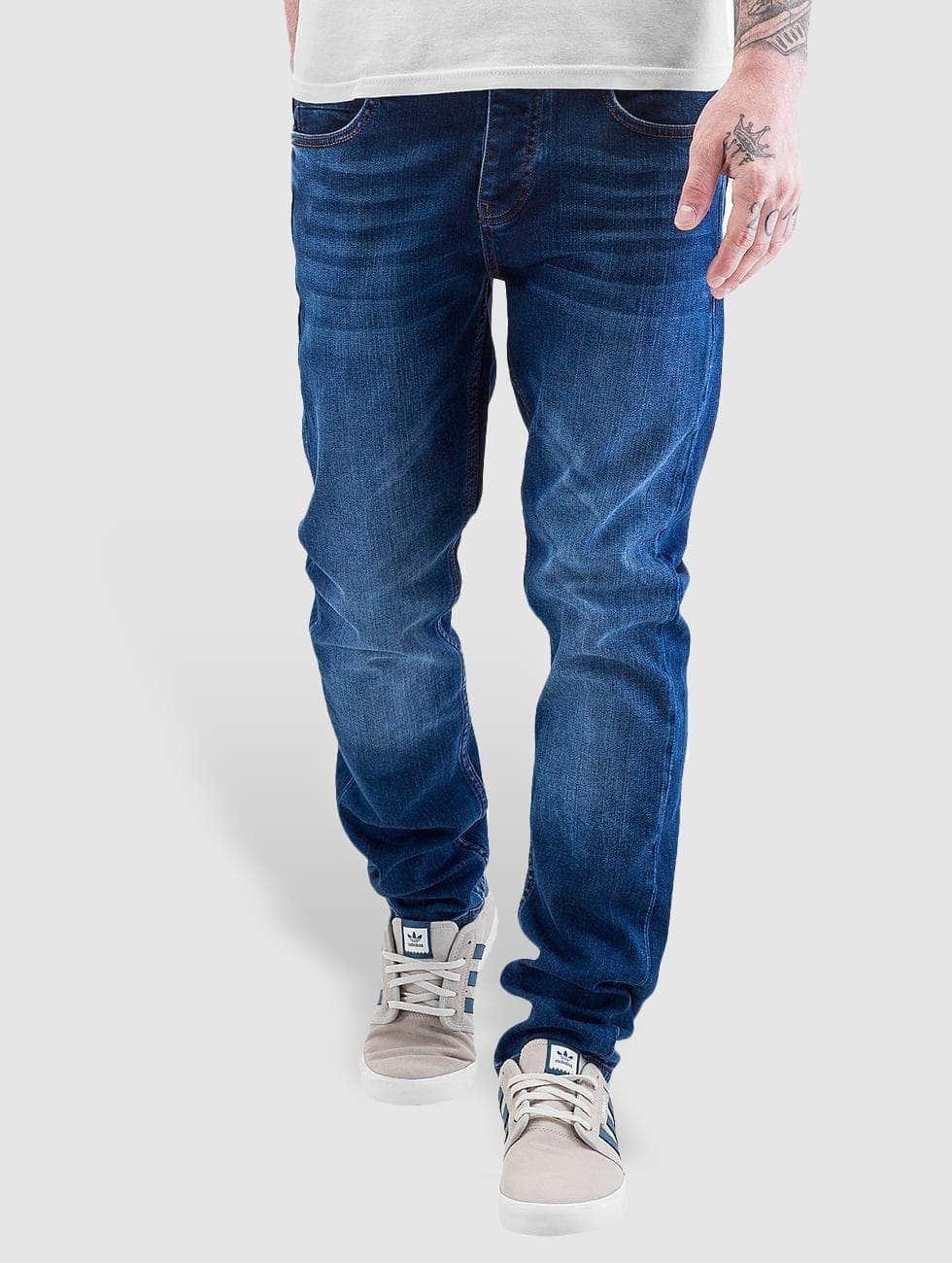 Just Rhyse Skinny jeans Slimfit blauw