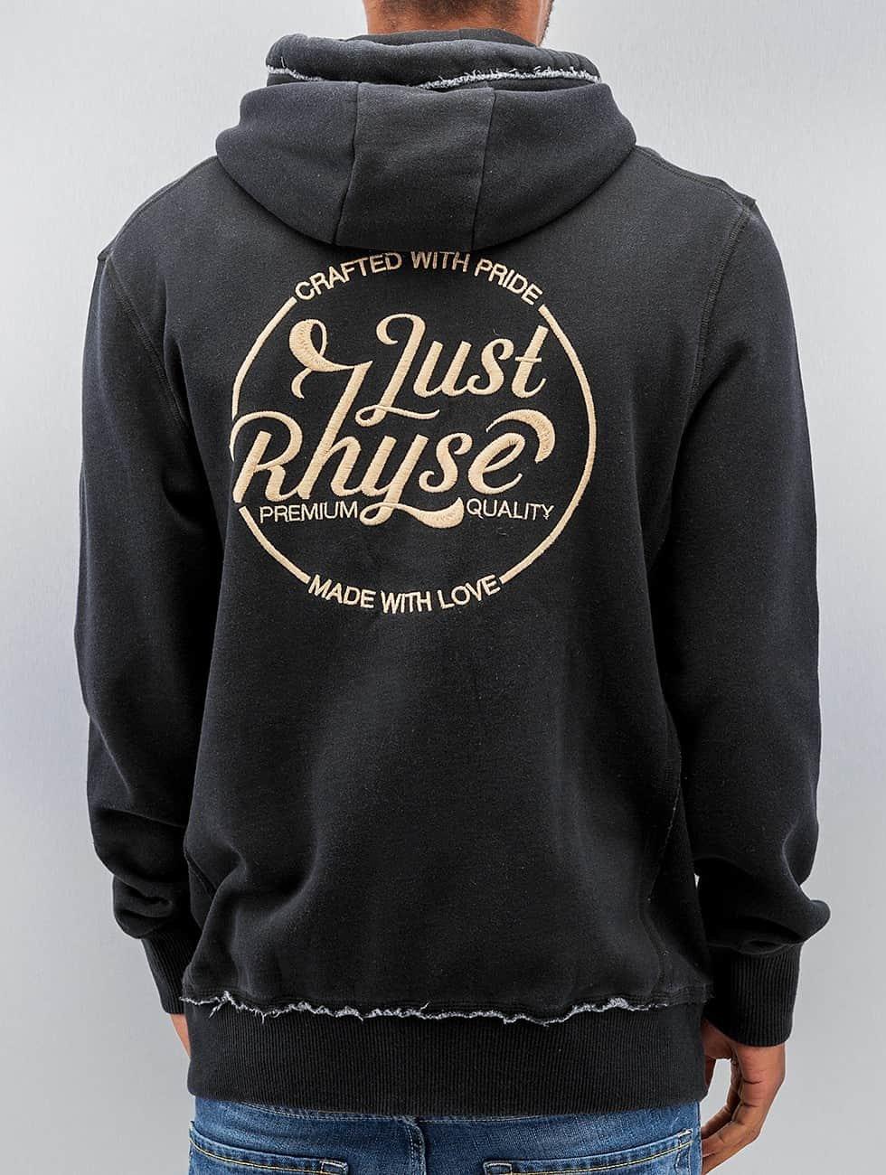 Just Rhyse Sweat capuche zippé MMXII noir