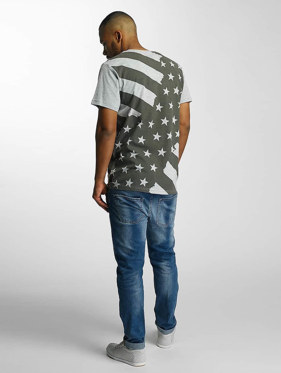 Just Rhyse T-Shirt Meadow Lakes grey