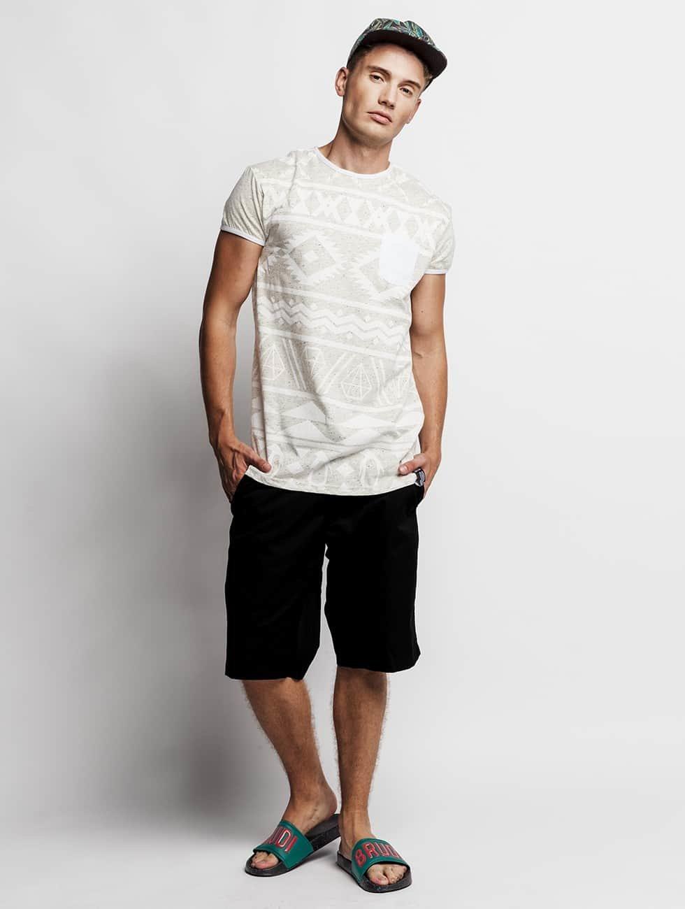Just Rhyse t-shirt Penguin wit