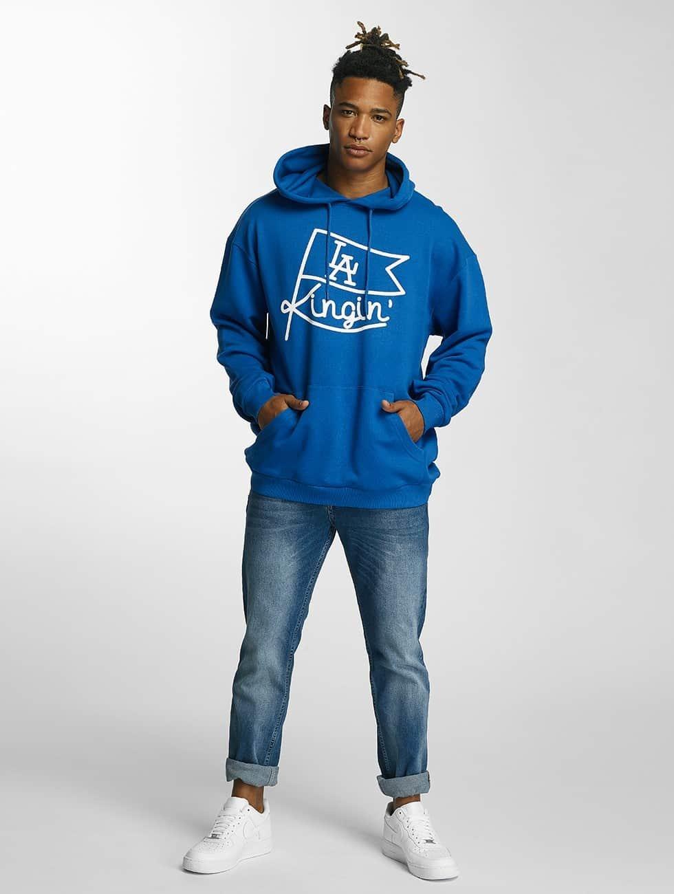 Kingin Hoody Flag blauw