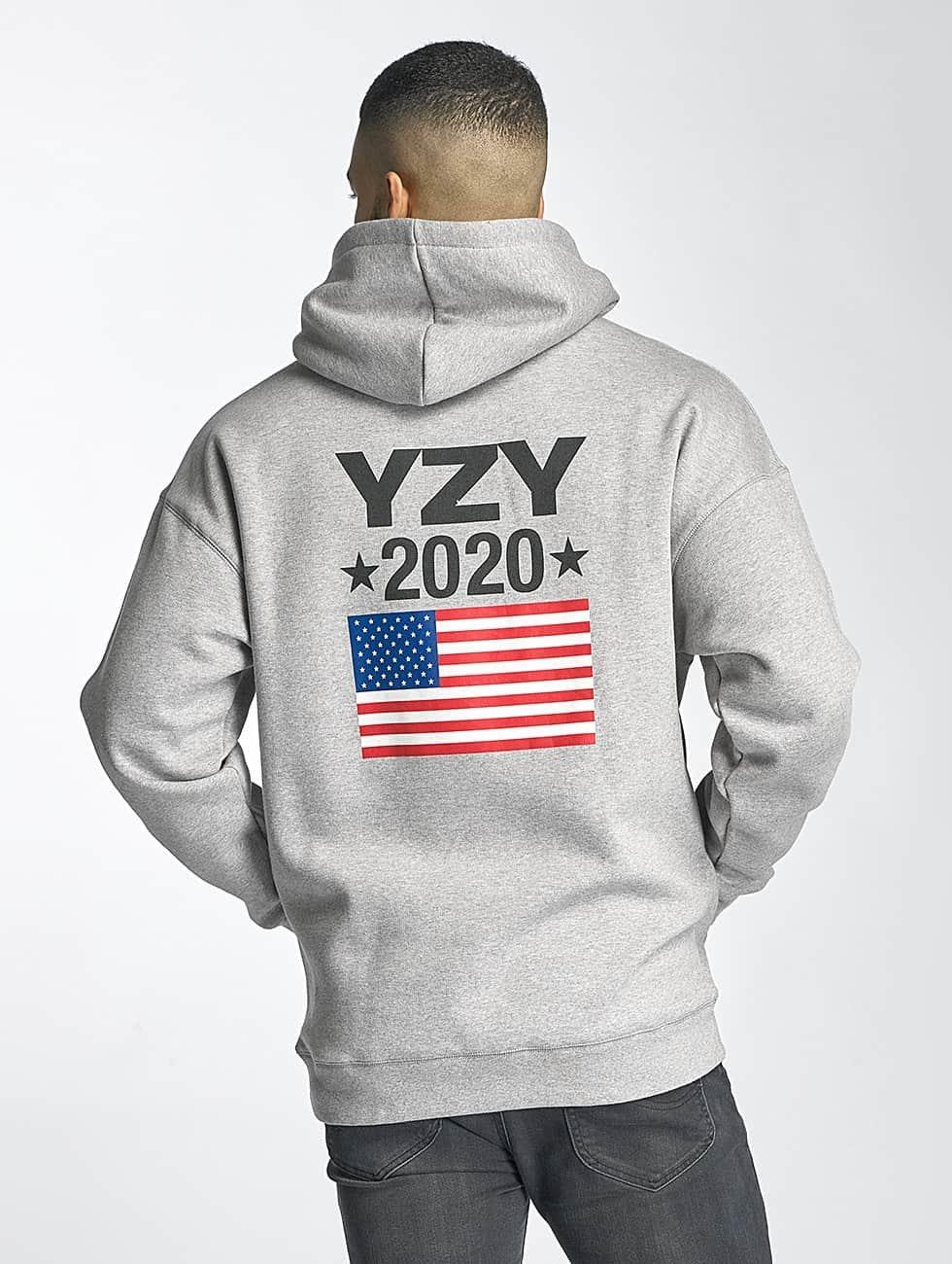 Kreem Bluzy z kapturem YZY 2020 szary