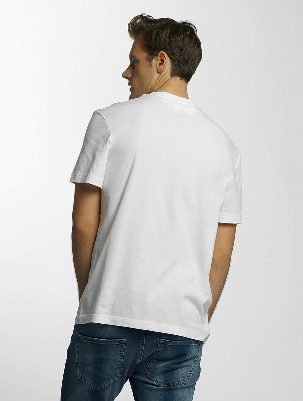 Lacoste T-skjorter Original hvit