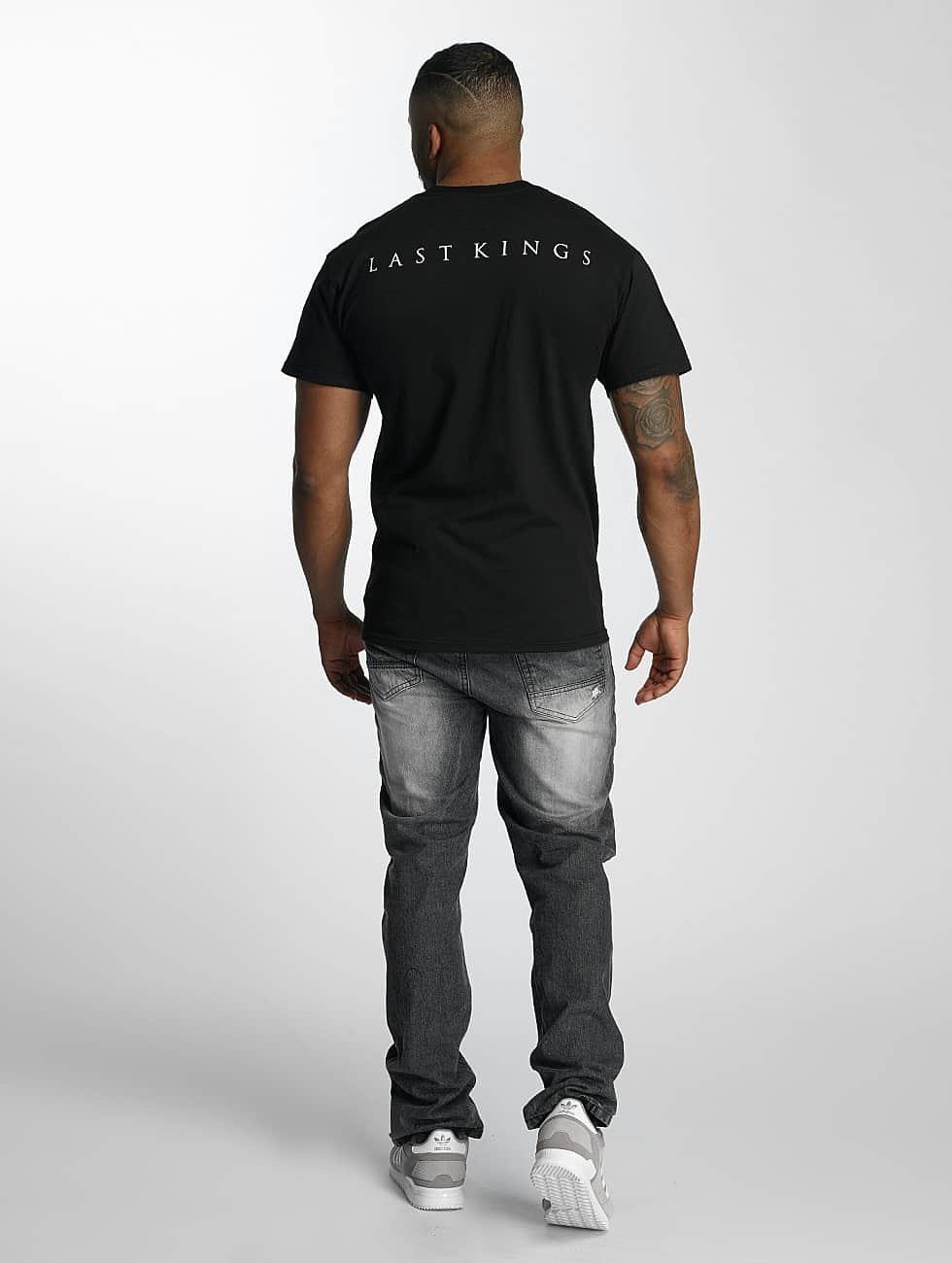 Last Kings T-Shirt Flag noir