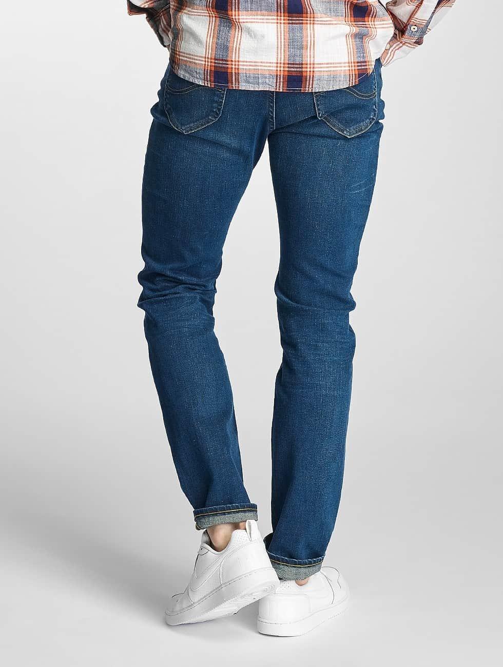 Lee Slim Fit Jeans Rider Regular Waist blue