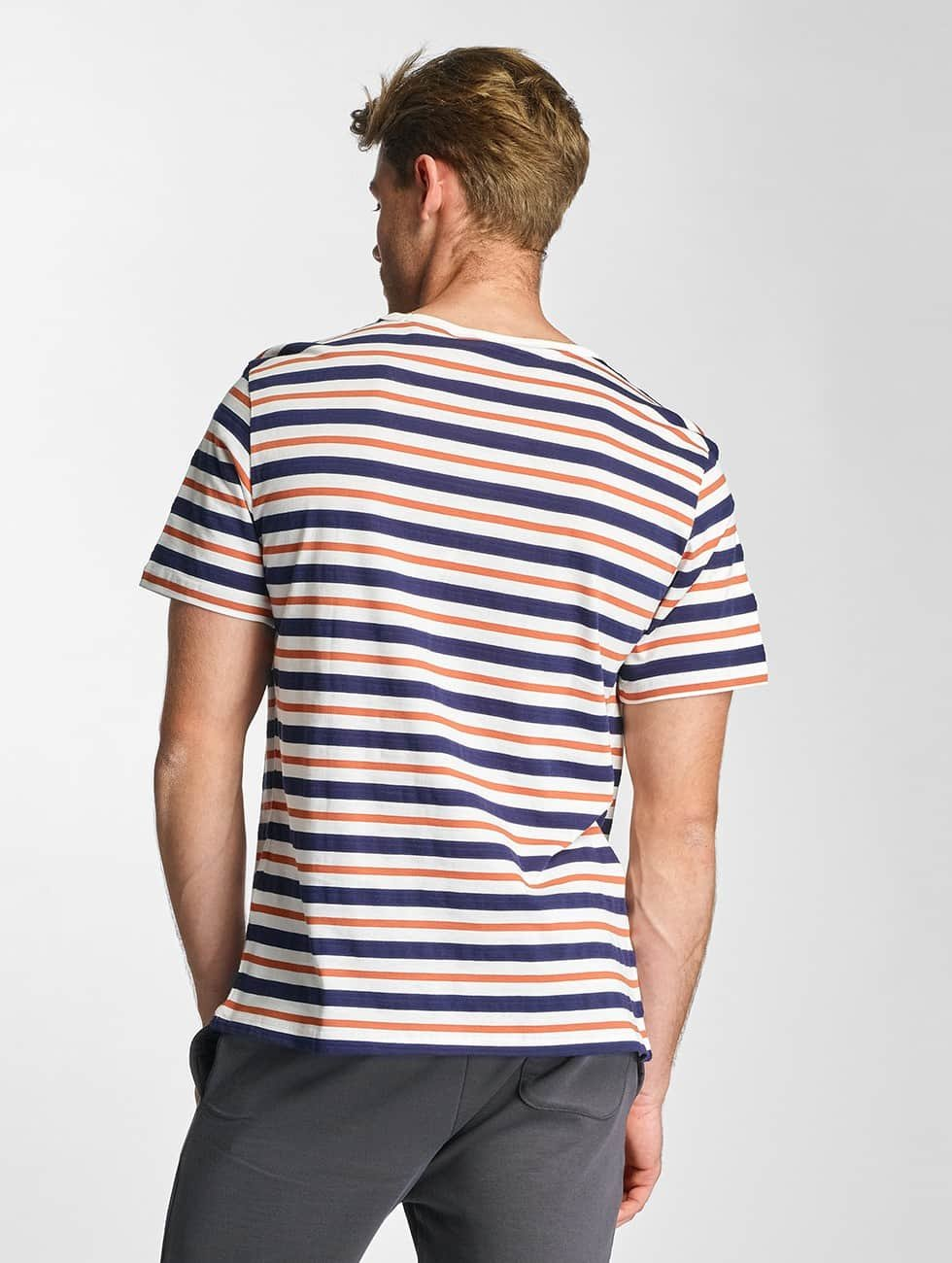 Lee T-Shirt Stripe white