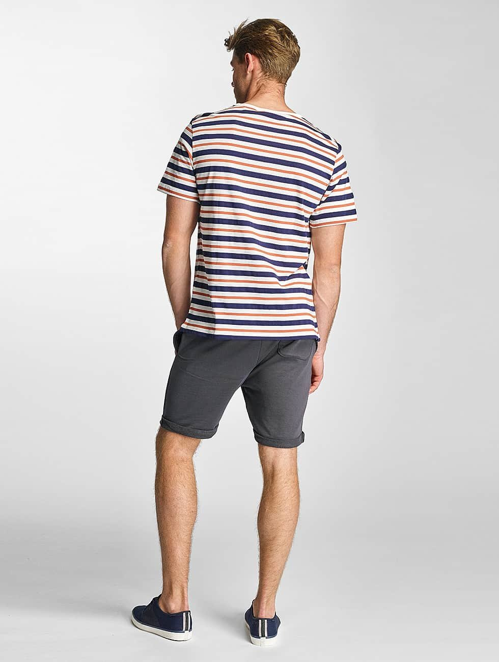 Lee T-Shirty Stripe bialy