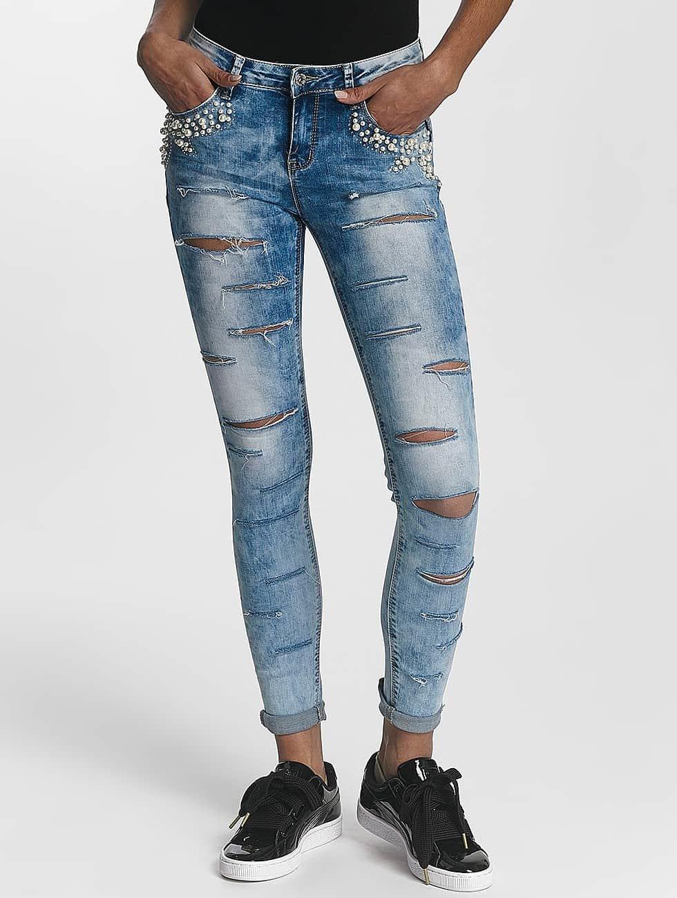 Leg Kings Облегающие джинсы Lantis 2 синий