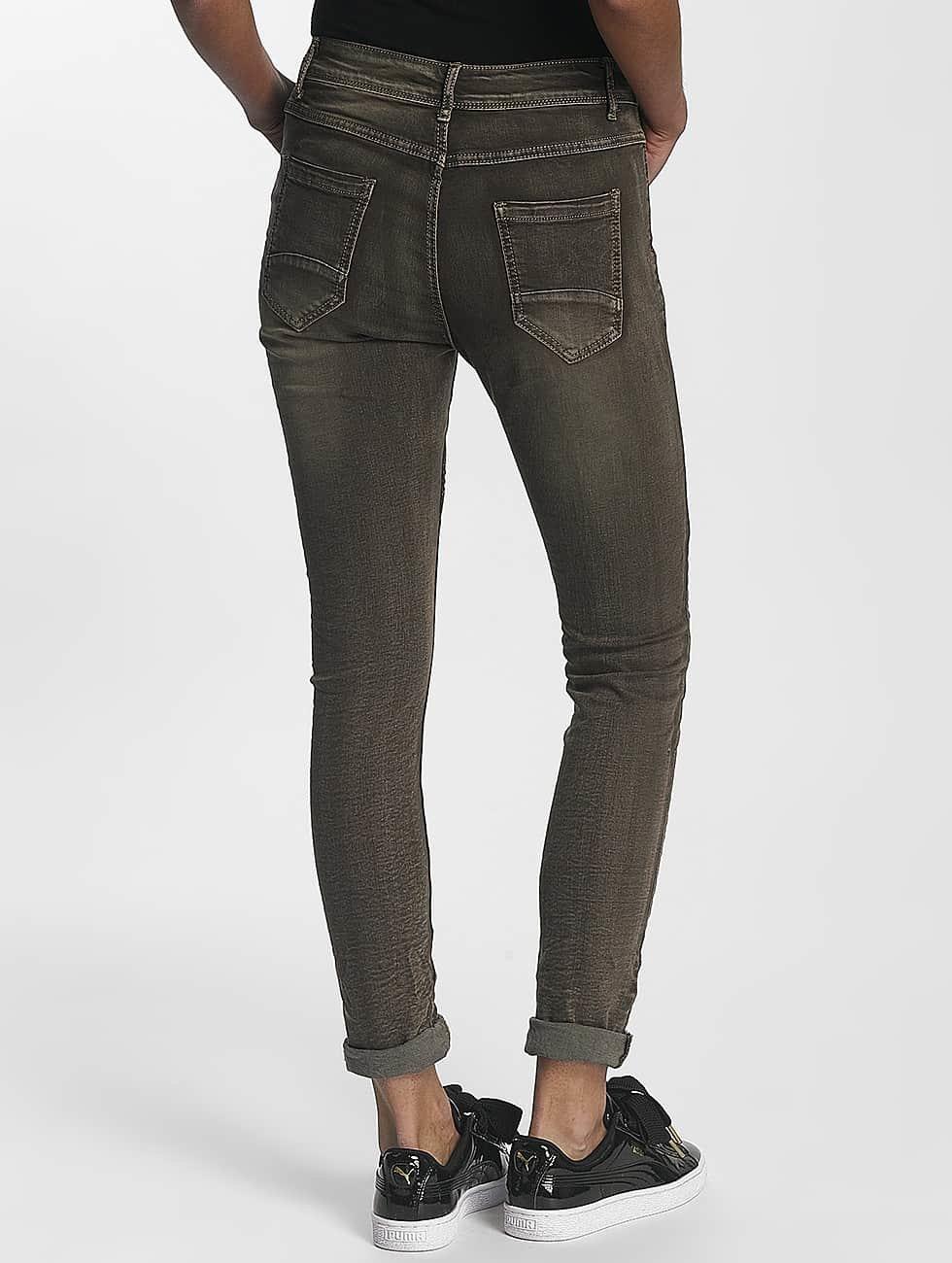 Leg Kings Облегающие джинсы Zac&Zoe хаки
