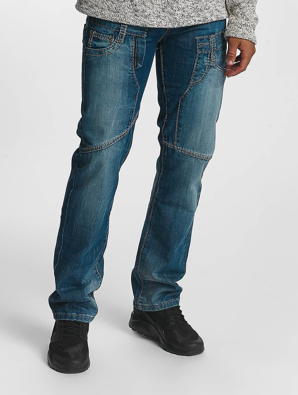 Leg Kings Straight Fit Jeans Mikhail blå