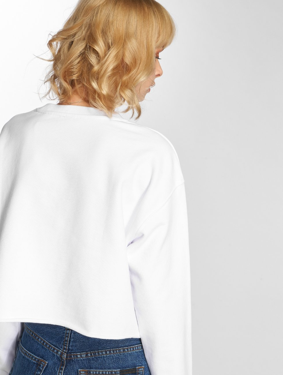 Levi's® Pullover Graphic Raw Cut Crew New Logo white