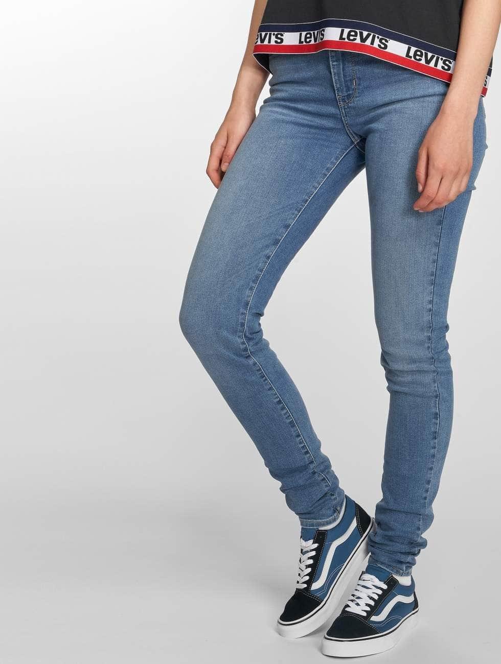 Levi's® Skinny Jeans High Rise blau
