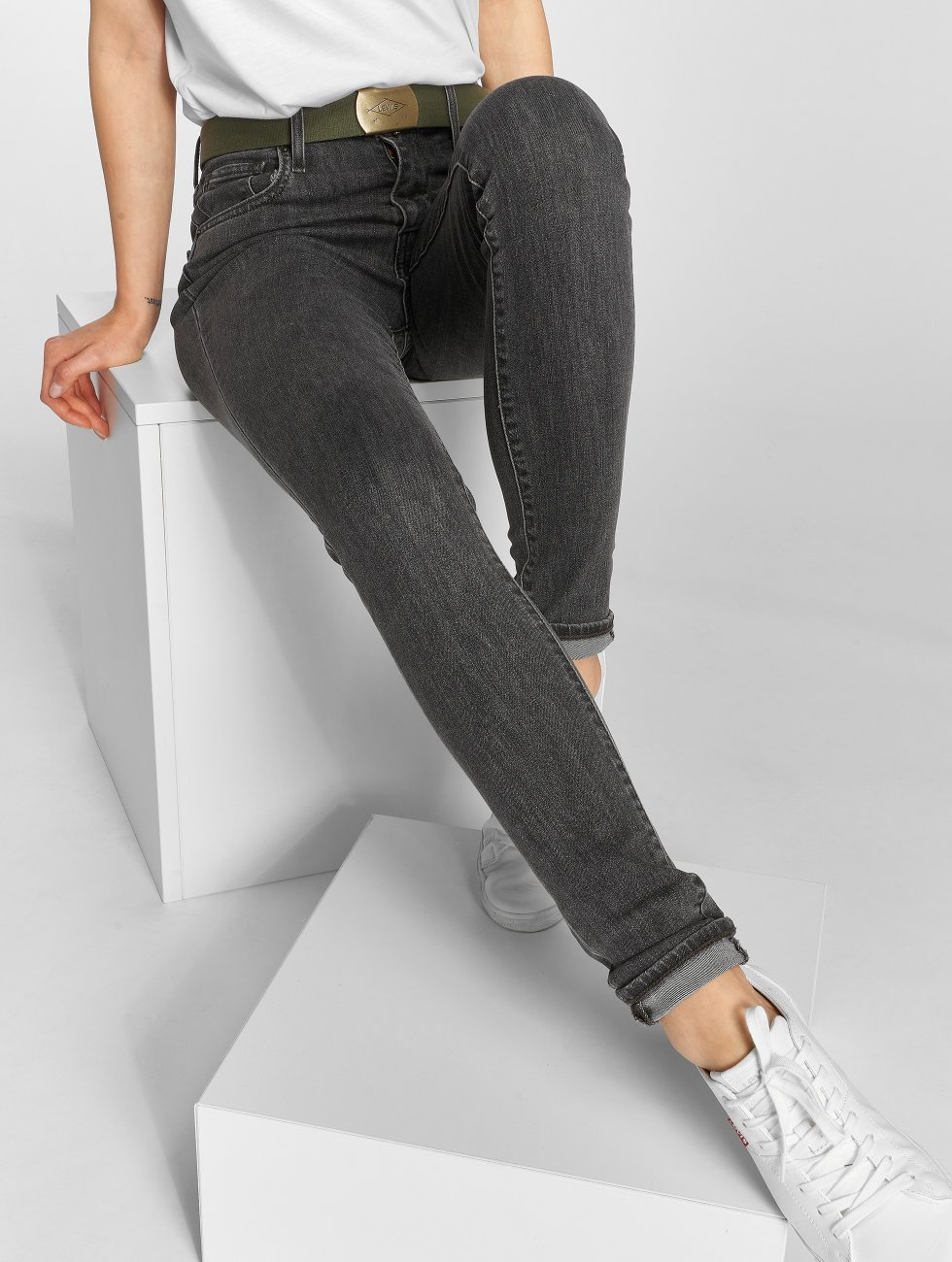 Levi's® Skinny Jeans 721™ High Rise schwarz