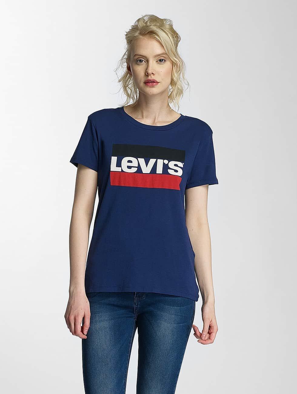 Levi's® t-shirt Perfect blauw