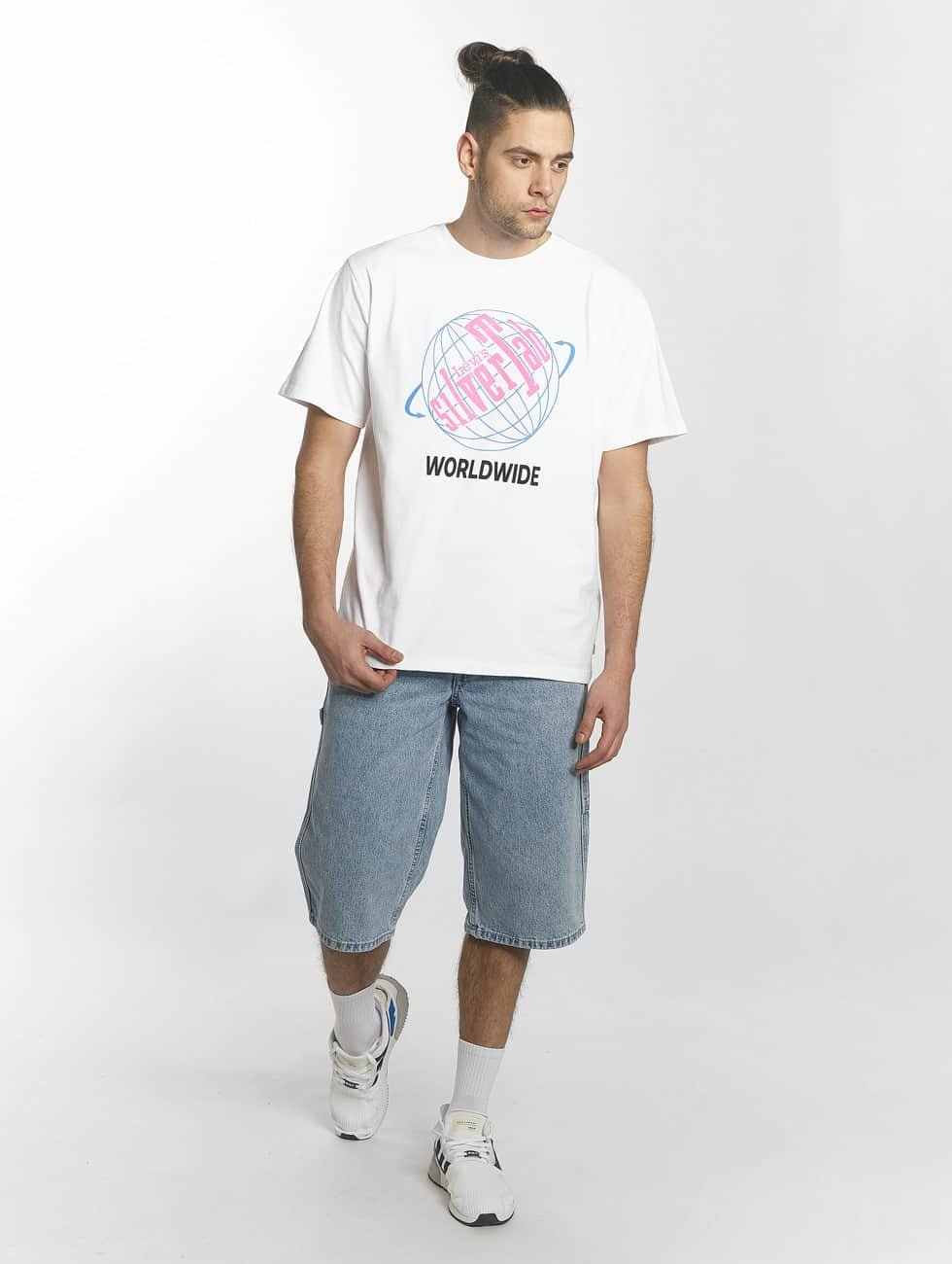Levi's® t-shirt Silvertab wit