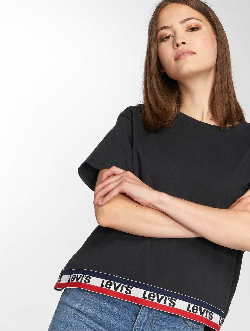 Levi's® T-Shirty Graphic J.V. czarny