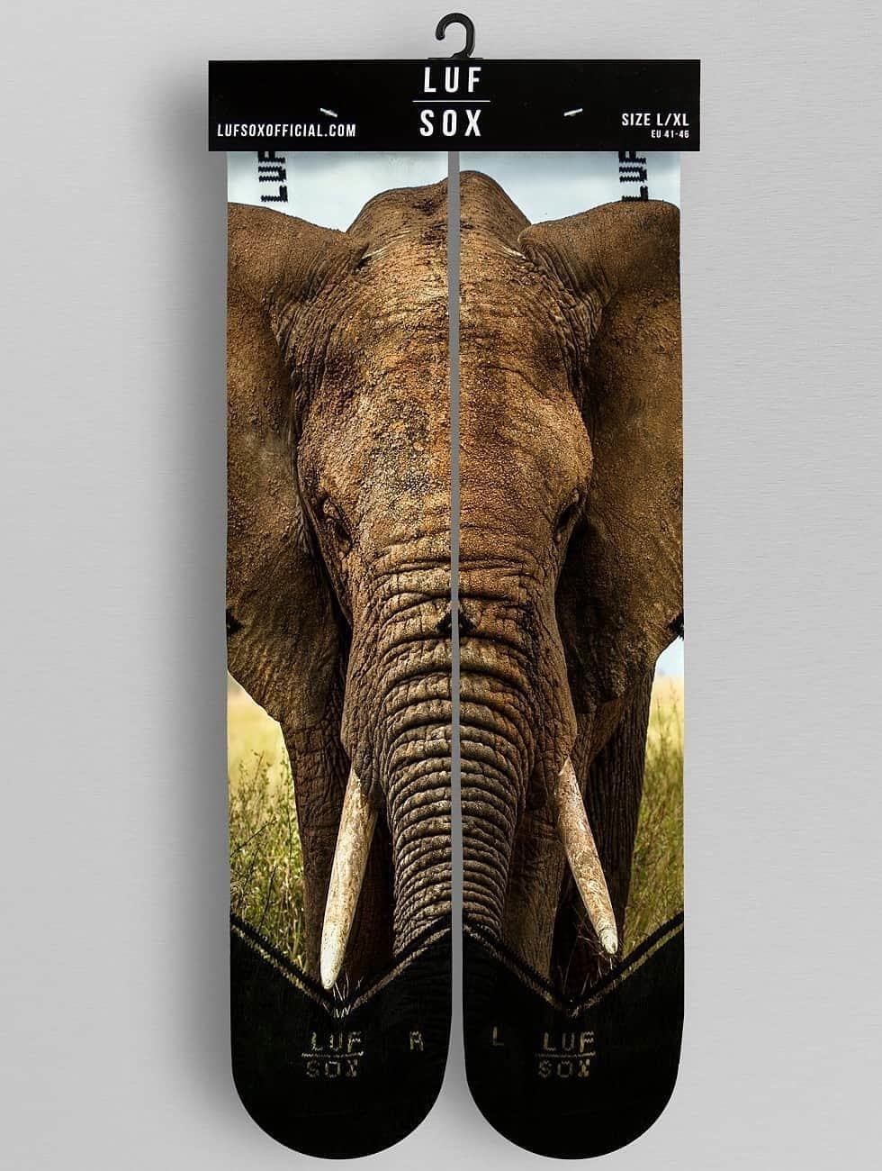 LUF SOX Socken Elephant bunt