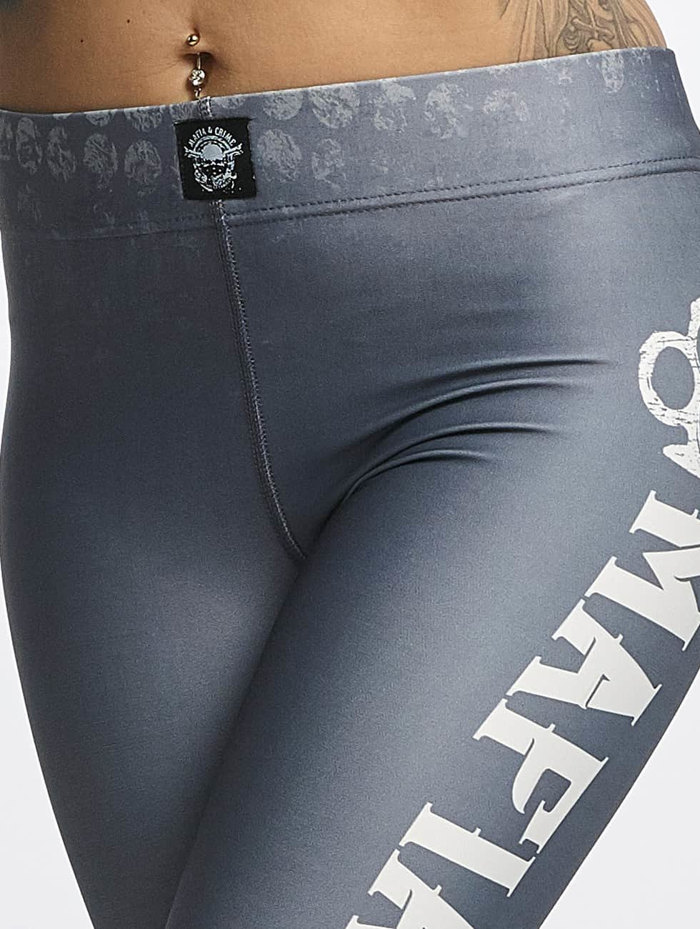 Mafia & Crime Legging Girls gris