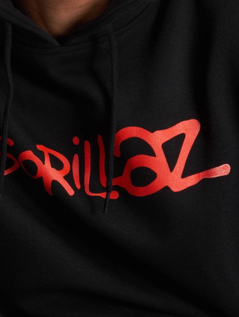 Merchcode Hettegensre Gorillaz Logo svart