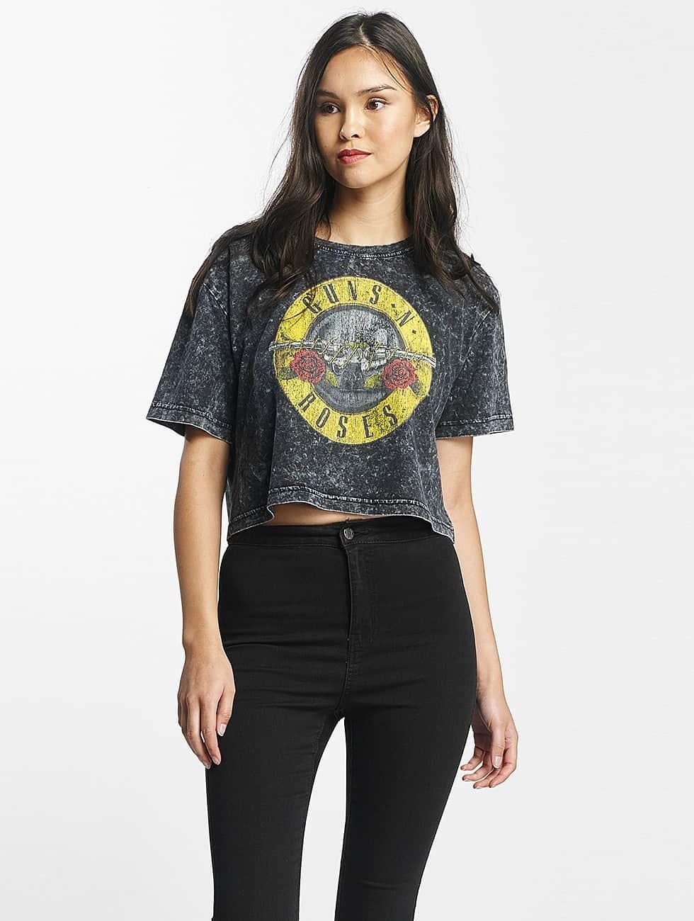 Merchcode T-Shirt Guns N Roses Oversize grey
